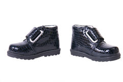 De schoenen van kinderen Stock Fotografie