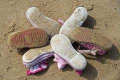 De schoenen van kinderen Stock Foto