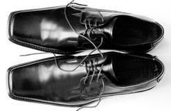 De schoenen van Mens Royalty-vrije Stock Fotografie