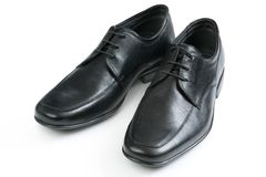 De schoenen van Mens Stock Afbeelding