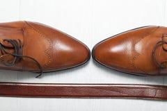 De schoenen van mensen royalty-vrije stock afbeeldingen