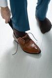 De schoenen van mensen royalty-vrije stock foto's