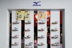 De schoenen van Mizuno Stock Foto's