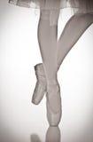 De schoenen van Pointe Stock Foto