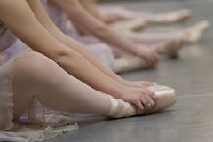 De Schoenen van Pointe Royalty-vrije Stock Fotografie