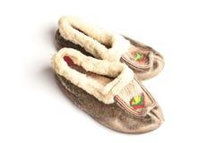 De schoenen van Sami royalty-vrije stock foto