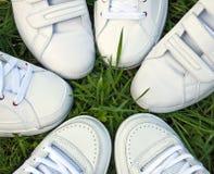 De schoenen van sporten Stock Foto's