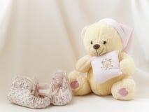 De schoenen van Teddy ANS Stock Fotografie