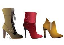 De Schoenen van vrouwen. Royalty-vrije Stock Foto's