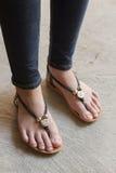De schoenen van vrouwen Royalty-vrije Stock Afbeeldingen