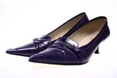De schoenen van vrouwen Stock Foto's