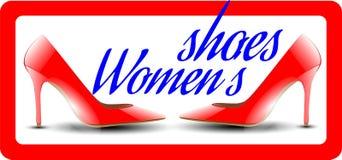 De schoenen van vrouwen `s Stock Foto