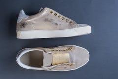 De schoenen van de vrouwen` s lente Royalty-vrije Stock Fotografie