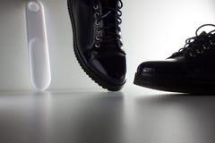 De schoenen van vrouwen voor dagelijkse garderobe Stock Afbeelding
