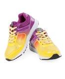 De schoenenpaar van de sport op een witte achtergrond Royalty-vrije Stock Foto