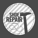 De schoenreparatie Royalty-vrije Stock Foto's