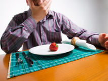 De schok van het dieet Royalty-vrije Stock Afbeeldingen