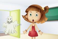 De schok van het spook vector illustratie