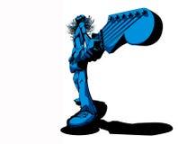 De schommelende Tuimelschakelaar van de Gitaar vector illustratie