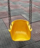 De schommeling van de speelplaats Royalty-vrije Stock Foto