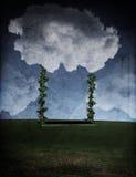 De Schommeling van de wolk Royalty-vrije Stock Afbeeldingen