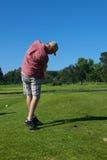 De Schommeling van het golf stock fotografie