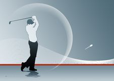 De Schommeling van het golf stock afbeelding