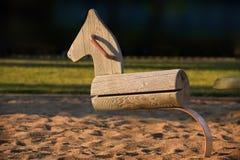 De schommeling van het paard Stock Afbeeldingen