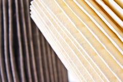 De schone en Vuile Filters van de Lucht Royalty-vrije Stock Afbeelding