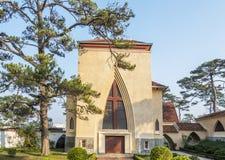 De school van Notre Dame du Langbianor Couvent des Oiseaux Royalty-vrije Stock Foto's
