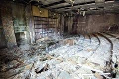 De School van Tchernobyl Pripyat Royalty-vrije Stock Afbeeldingen
