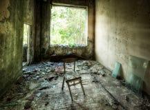De School van Tchernobyl Pripyat Stock Foto
