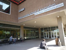 De school van Walter Cronkite van Journalistiek Royalty-vrije Stock Foto