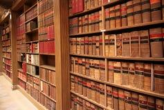 De schoolbibliotheek van de wet Stock Afbeeldingen