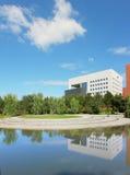 De schoolbouw op Chinese Universiteit Royalty-vrije Stock Afbeelding