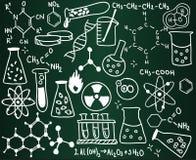 De schoolraad van de chemie stock foto's