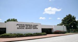 De Schoolraad van Jackson, TN stock afbeeldingen