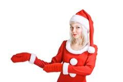 De schoonheid de Kerstman van Kerstmis Royalty-vrije Stock Afbeelding