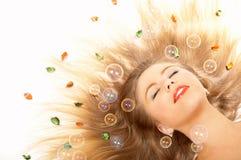 De schoonheid in dromen Royalty-vrije Stock Fotografie