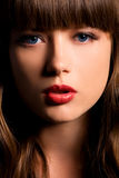 De Schoonheid van de close-up Royalty-vrije Stock Fotografie