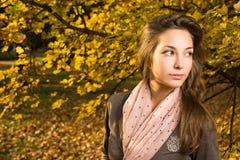De schoonheid van de herfst Royalty-vrije Stock Foto