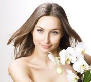 De Schoonheid van de lente met Bloemen royalty-vrije stock afbeelding