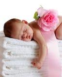 De Schoonheid van de slaap Stock Afbeelding