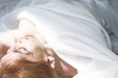 De schoonheid van de slaap stock fotografie
