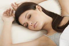 De schoonheid van de slaap Stock Afbeeldingen
