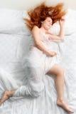 De schoonheid van de slaap Royalty-vrije Stock Afbeeldingen