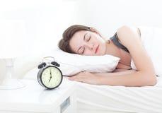 De schoonheid van de slaap Royalty-vrije Stock Foto