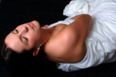 De Schoonheid van de slaap Stock Foto's