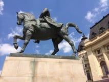 De schoonheid van de stad van Roemenië, Boekarest Stock Foto's