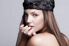 De schoonheid van de vrouw Royalty-vrije Stock Afbeelding